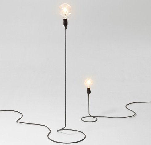 Cord Lamp Large