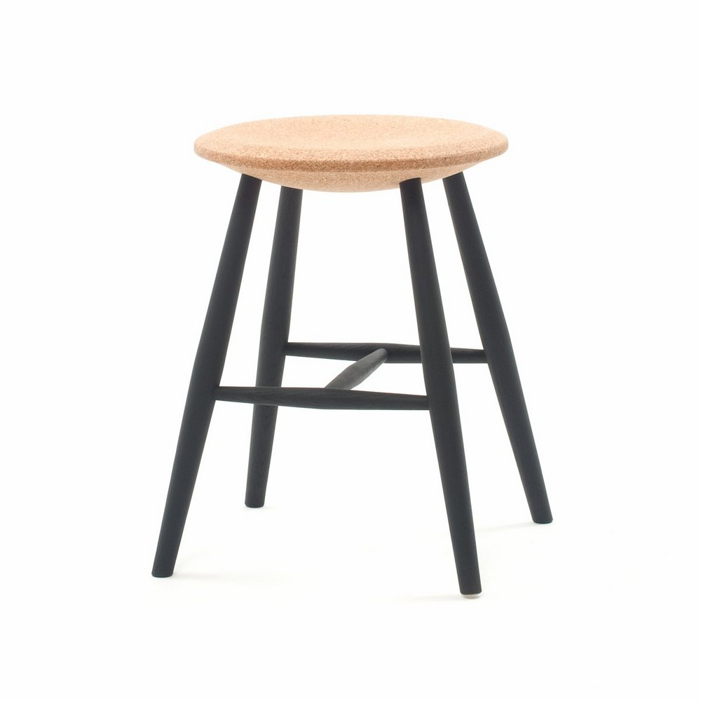 DRIFTED STOOL - LIGHT CORK
