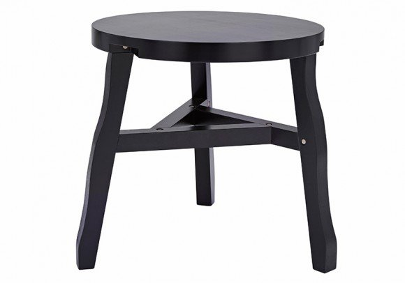 Offcut Side Table Black