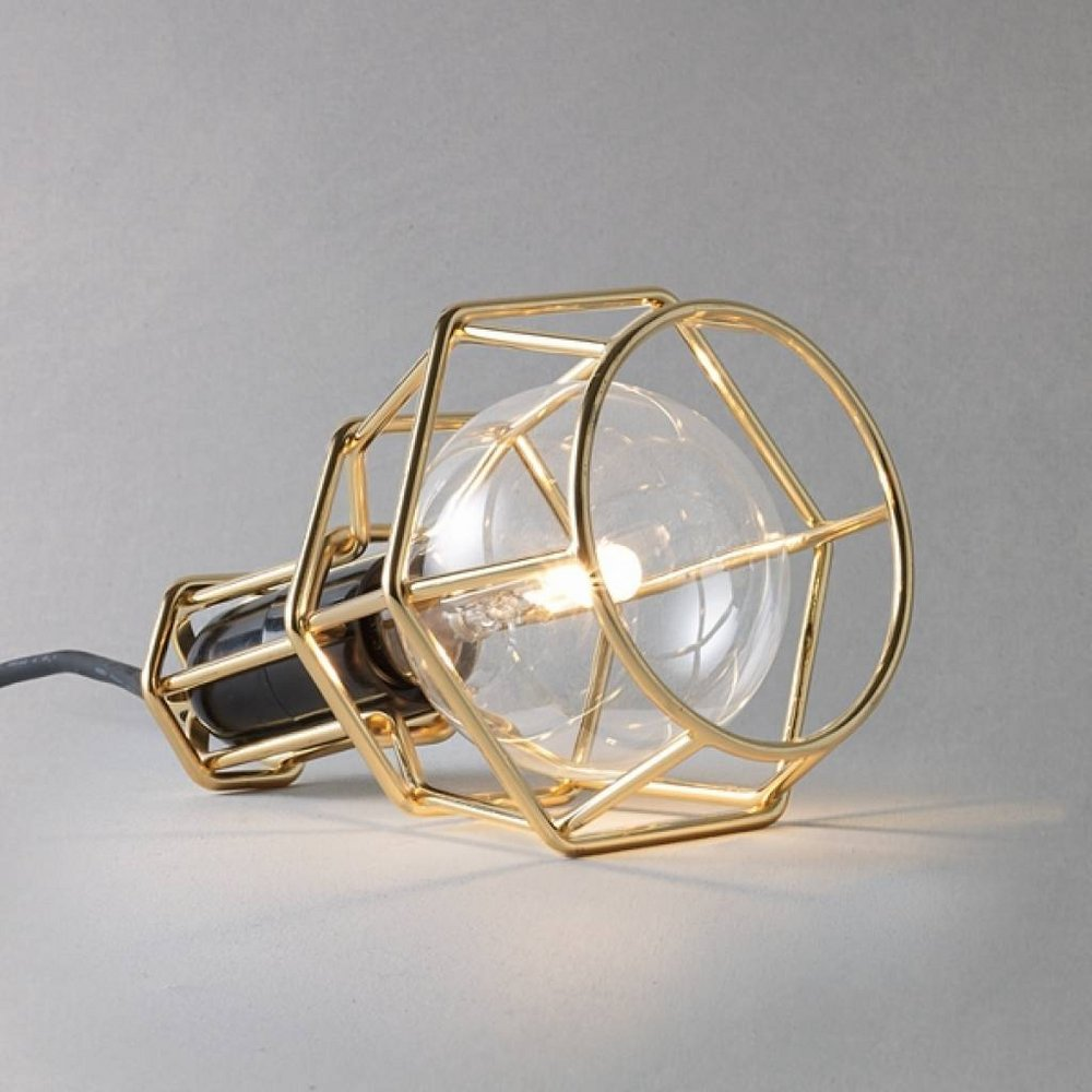 Work Lamp Gold