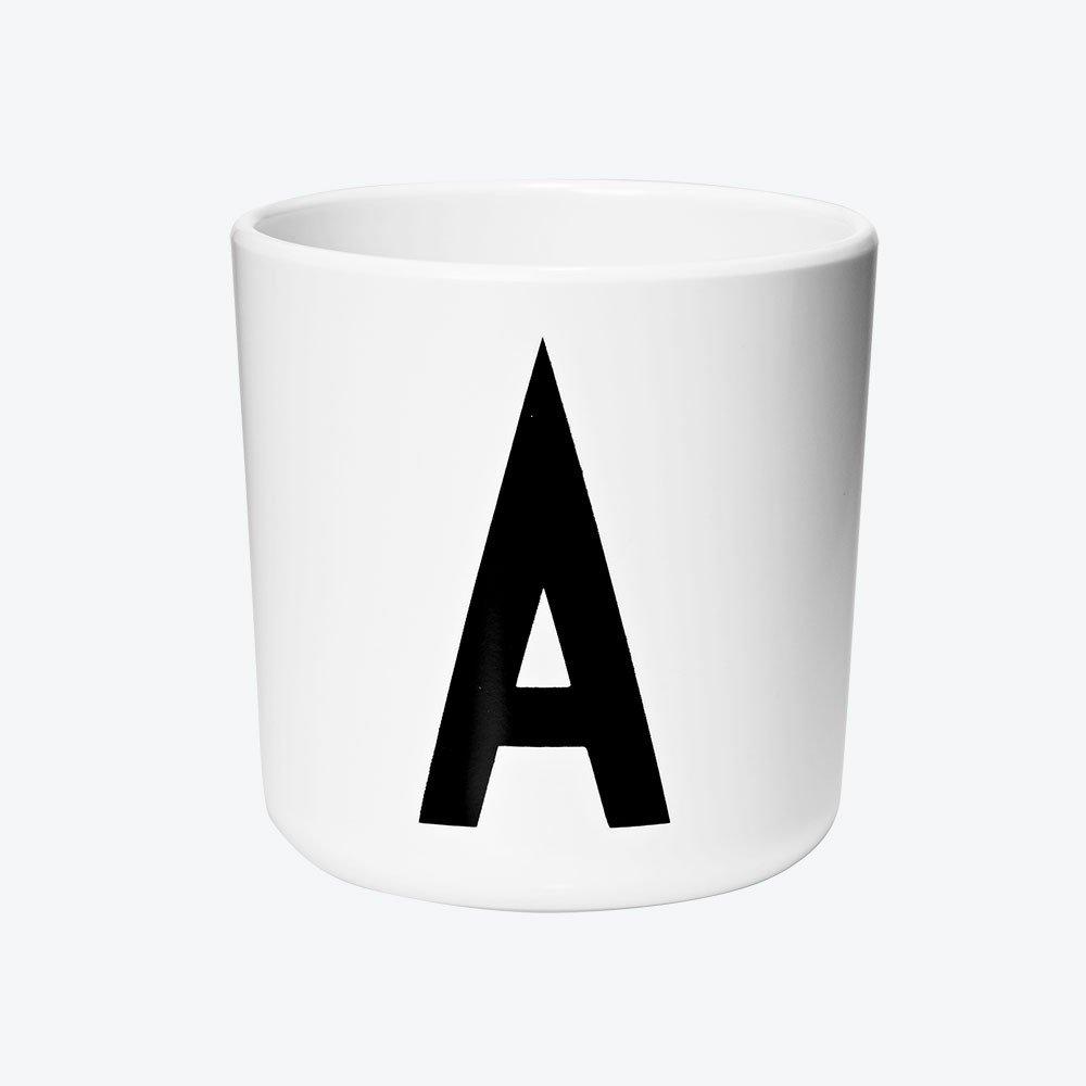 Melamine Cup A-Z