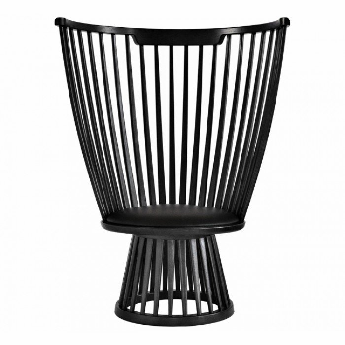 Fan Chair Black
