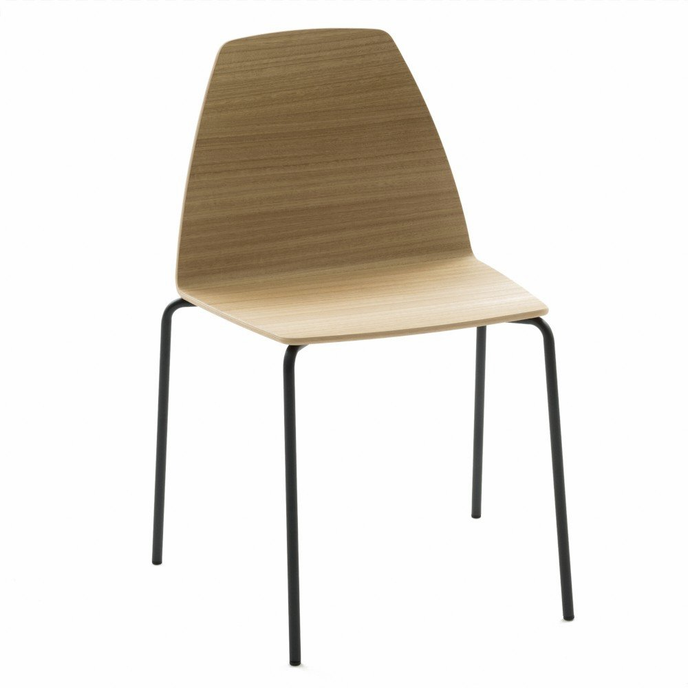 SILA WOOD STACKABLE CHAIR