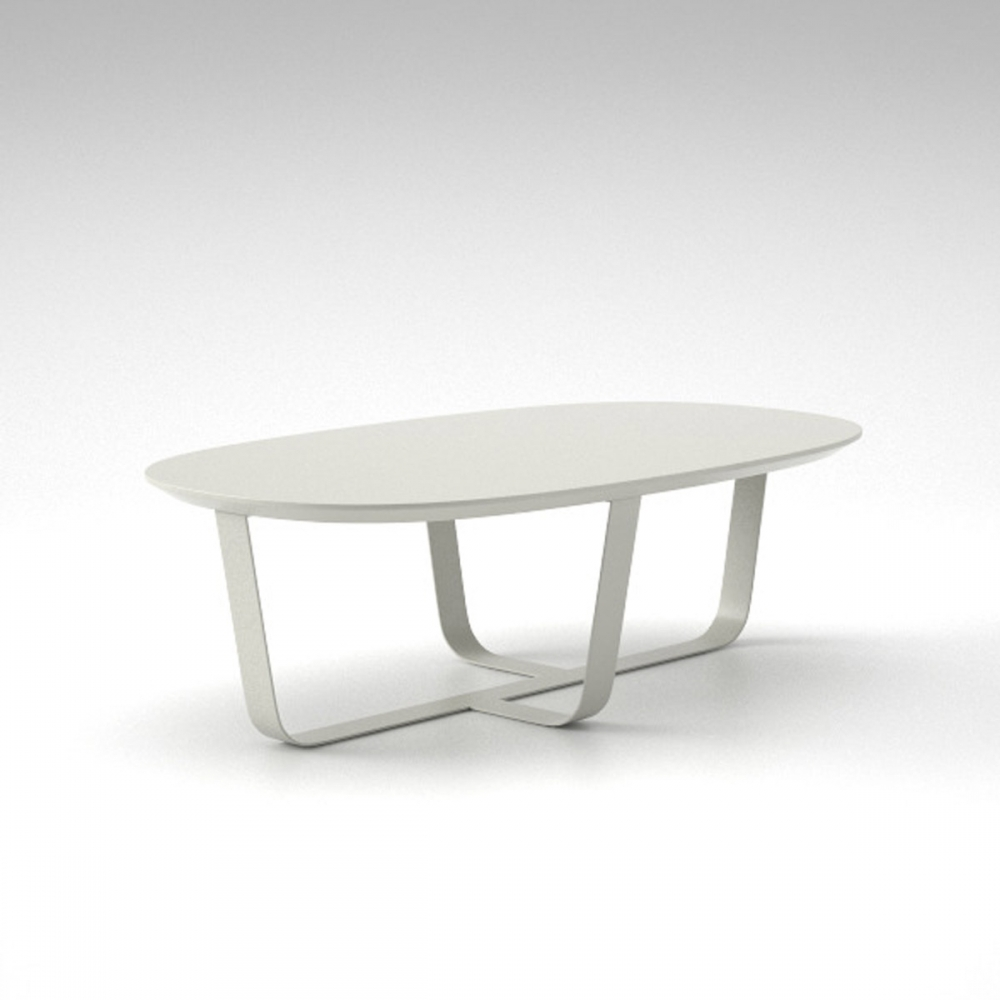 Bino Table White 115x65 cm