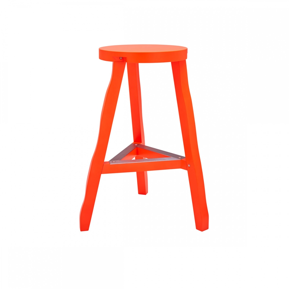 Offcut Stool 65MM Fluoro