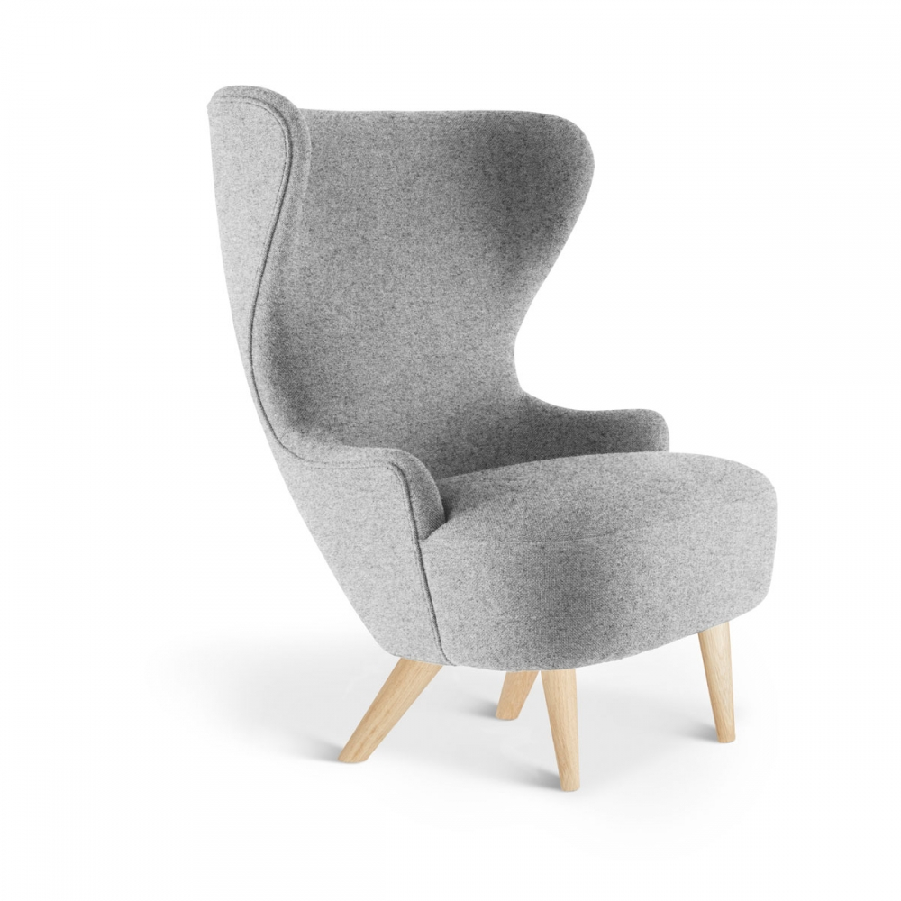 Micro wing back chair